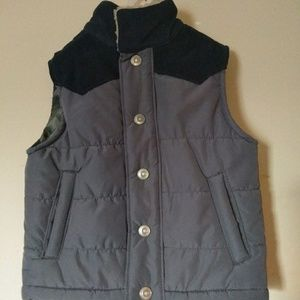 Carter Toddler Boys Grey Quilted Puffer Vest